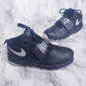 Nike Team Hustle  D8 Sneakers- Size 3, Black